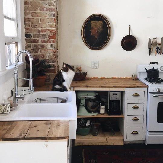 kat-landelijke keuken