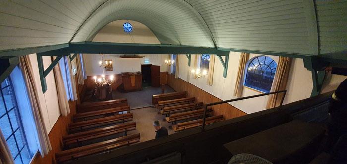 Foto van inrichting kerk