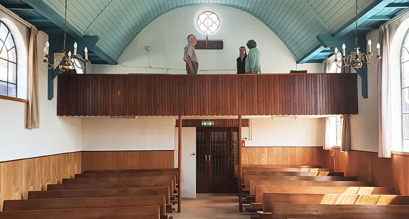 klussen in kerk