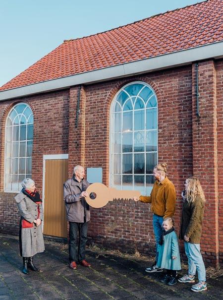 Sleuteloverdacht-kerk